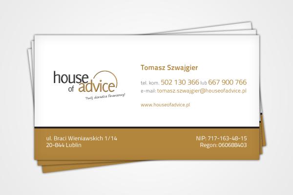 House Of Advice: Twój doradca finansowy: Realizacja 2
