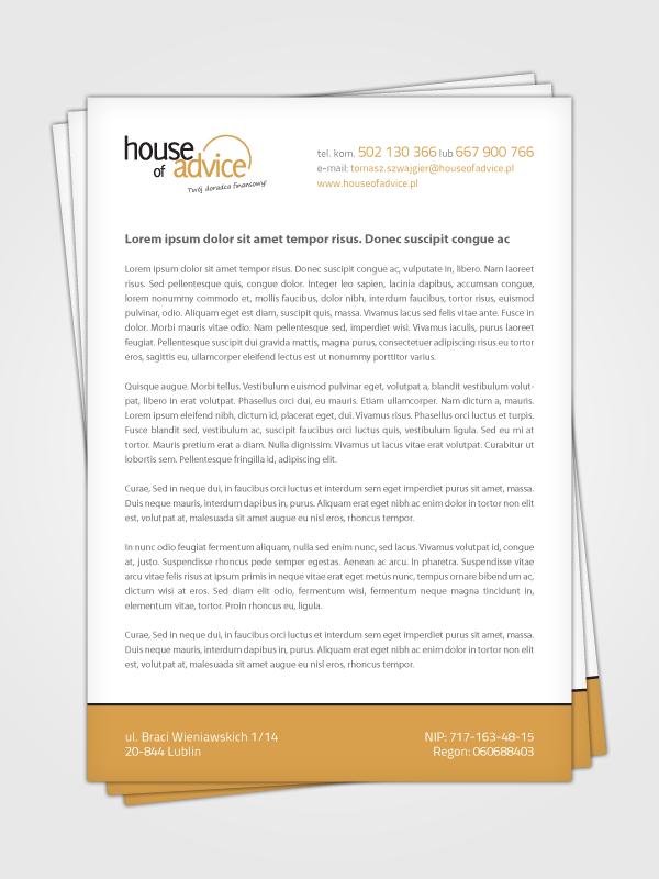House Of Advice: Twój doradca finansowy: Realizacja 3