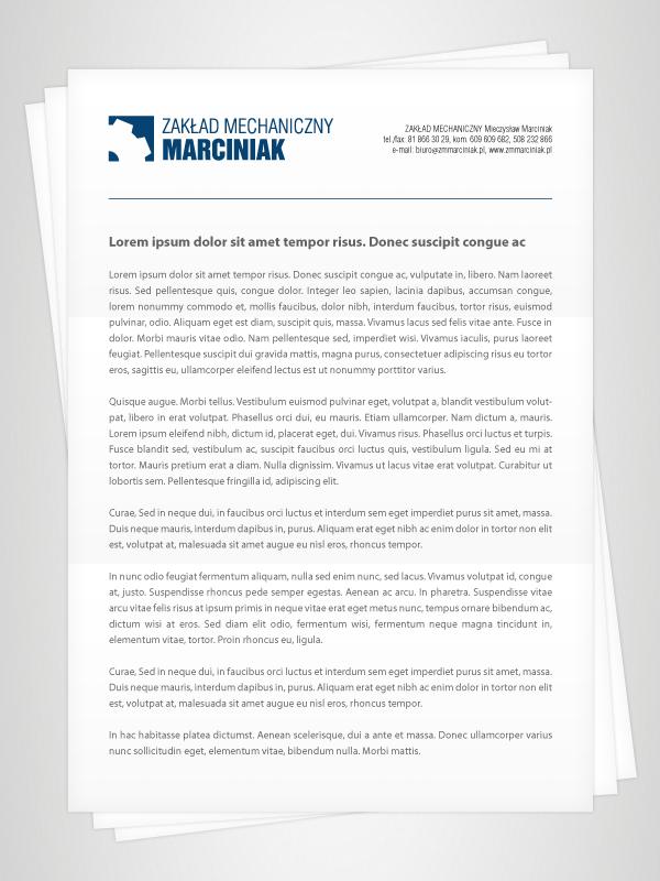 Zakład Mechaniczny Marciniak: Realizacja 2