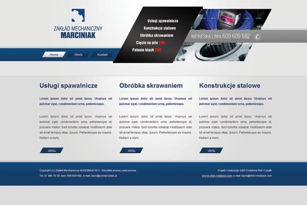 Zakład Mechaniczny Marciniak: Realizacja 3